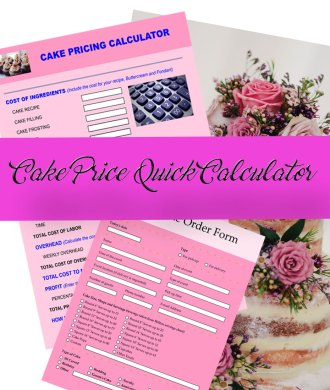 Buttercream Recipe Calculator - Wow! Is that really edible