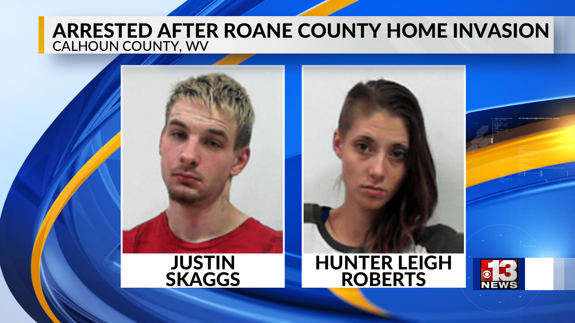 2 Arrested After Home Invasion in Roane County