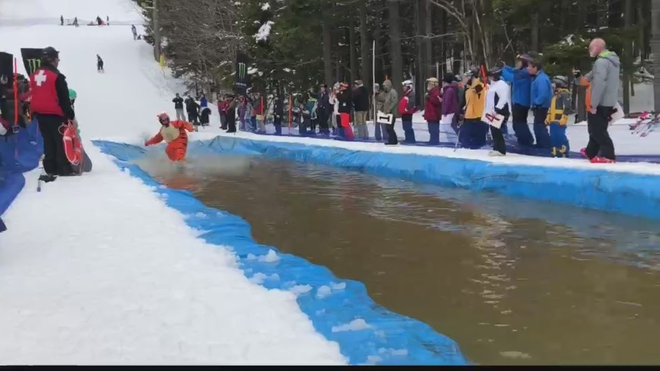 Snowshoe Pond Skim Event