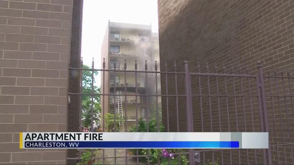 Crews Battle Charleston Apartment Blaze