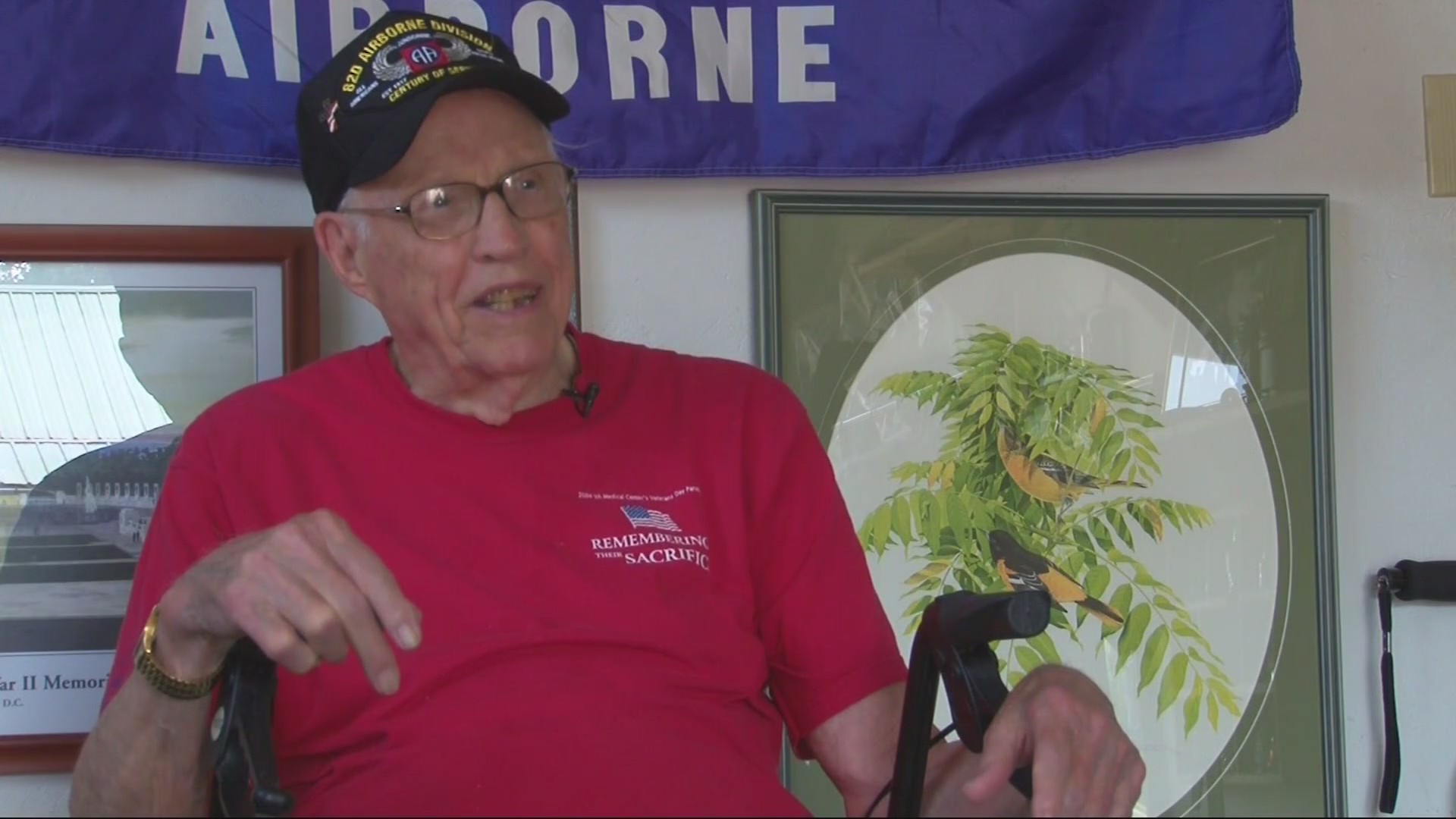 West Virginia War Hero Turns 100