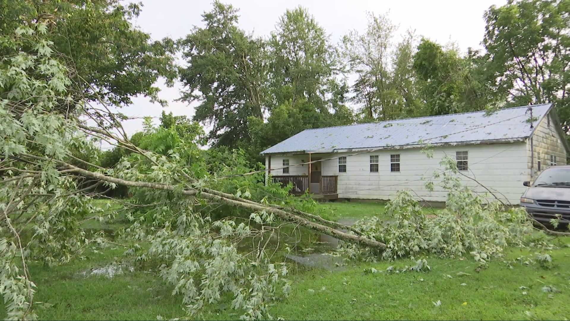 Storm Clean Up In Putnam and Cabell Counties Continue