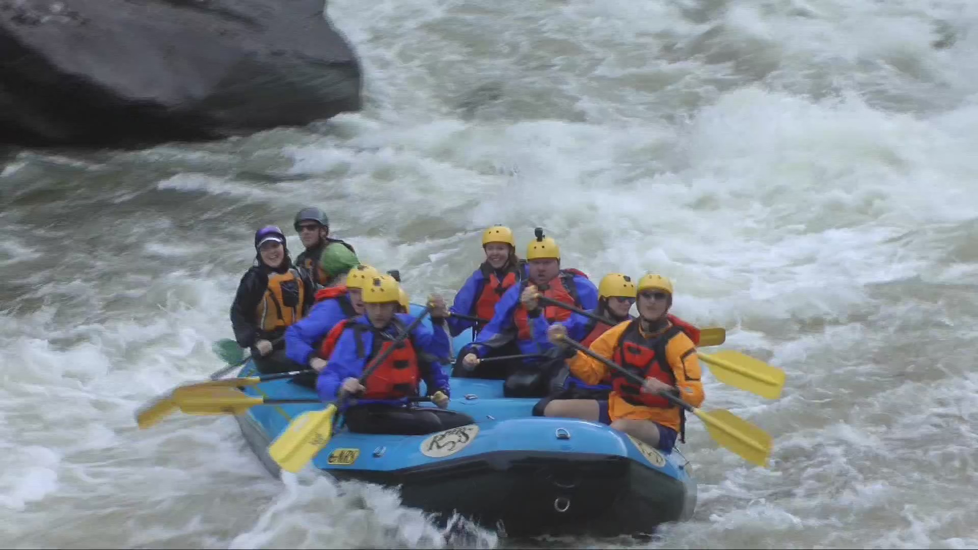 Gauley Season: Riding the Beast of the East