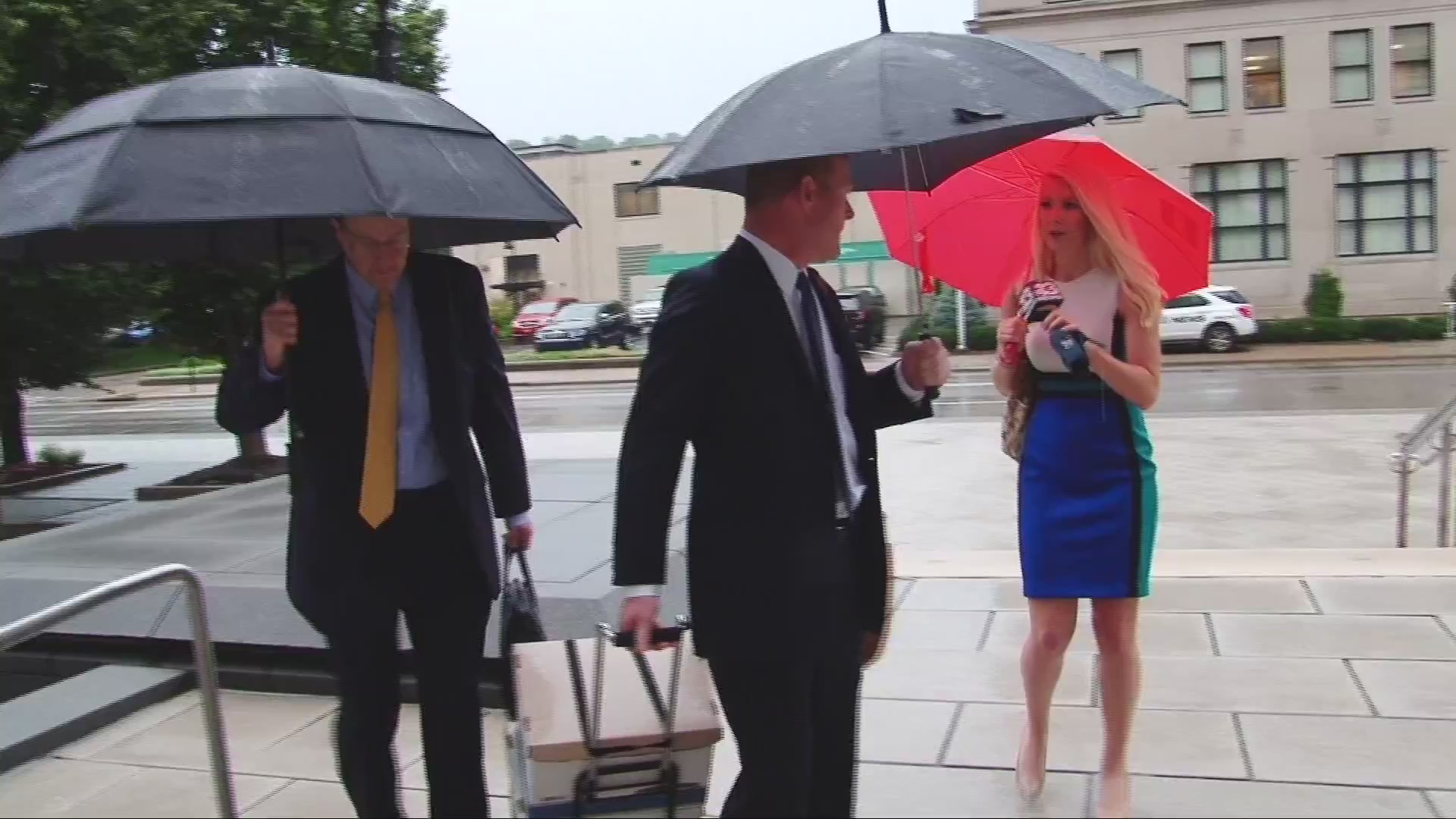 Day 2 of Suspended Justice Loughry's Trial