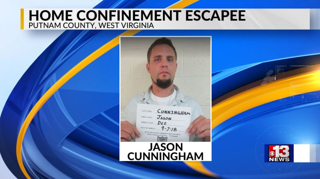 Putnam County deputies searching for home confinement escapee