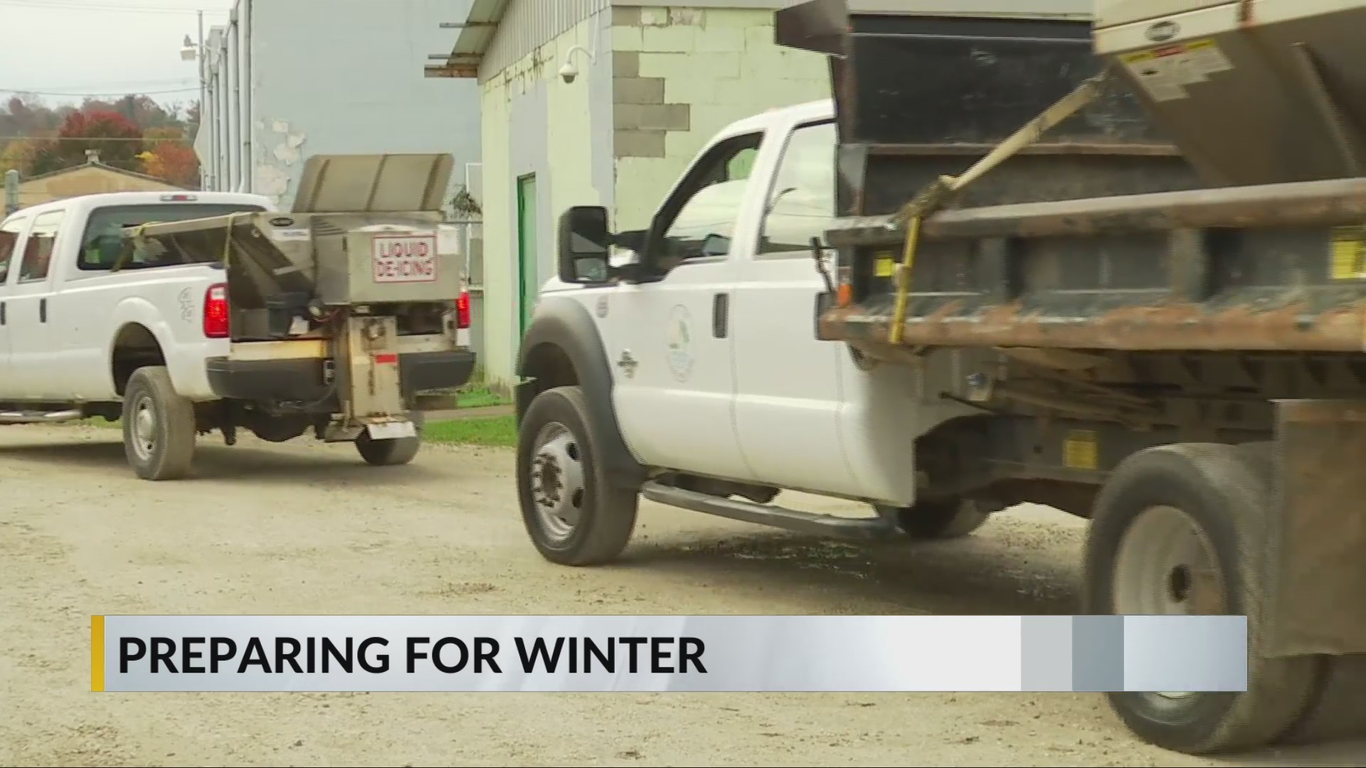 Street Department Prepares for Winter Weather