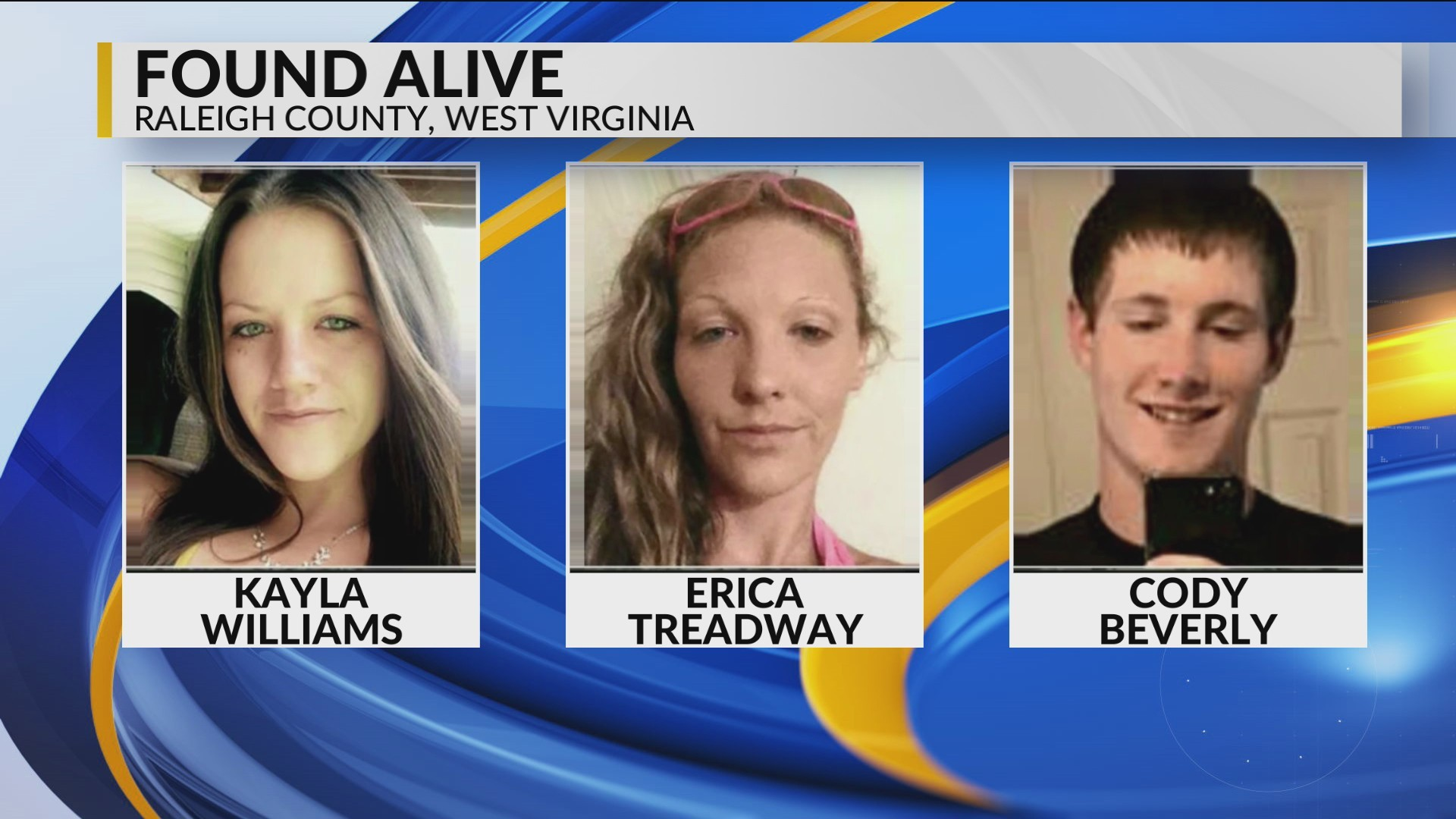 3 Missing People Found ALIVE
