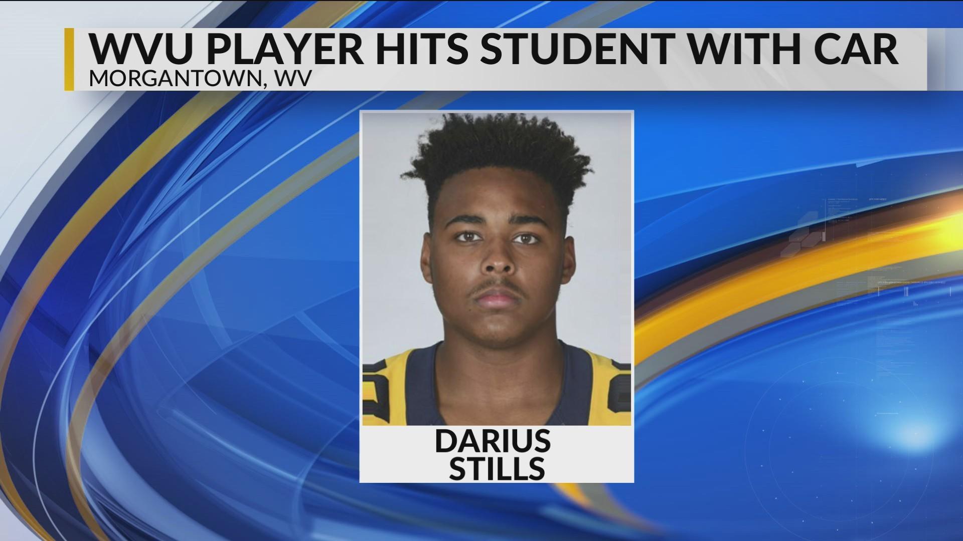 WVU Football Player Struck by Driver