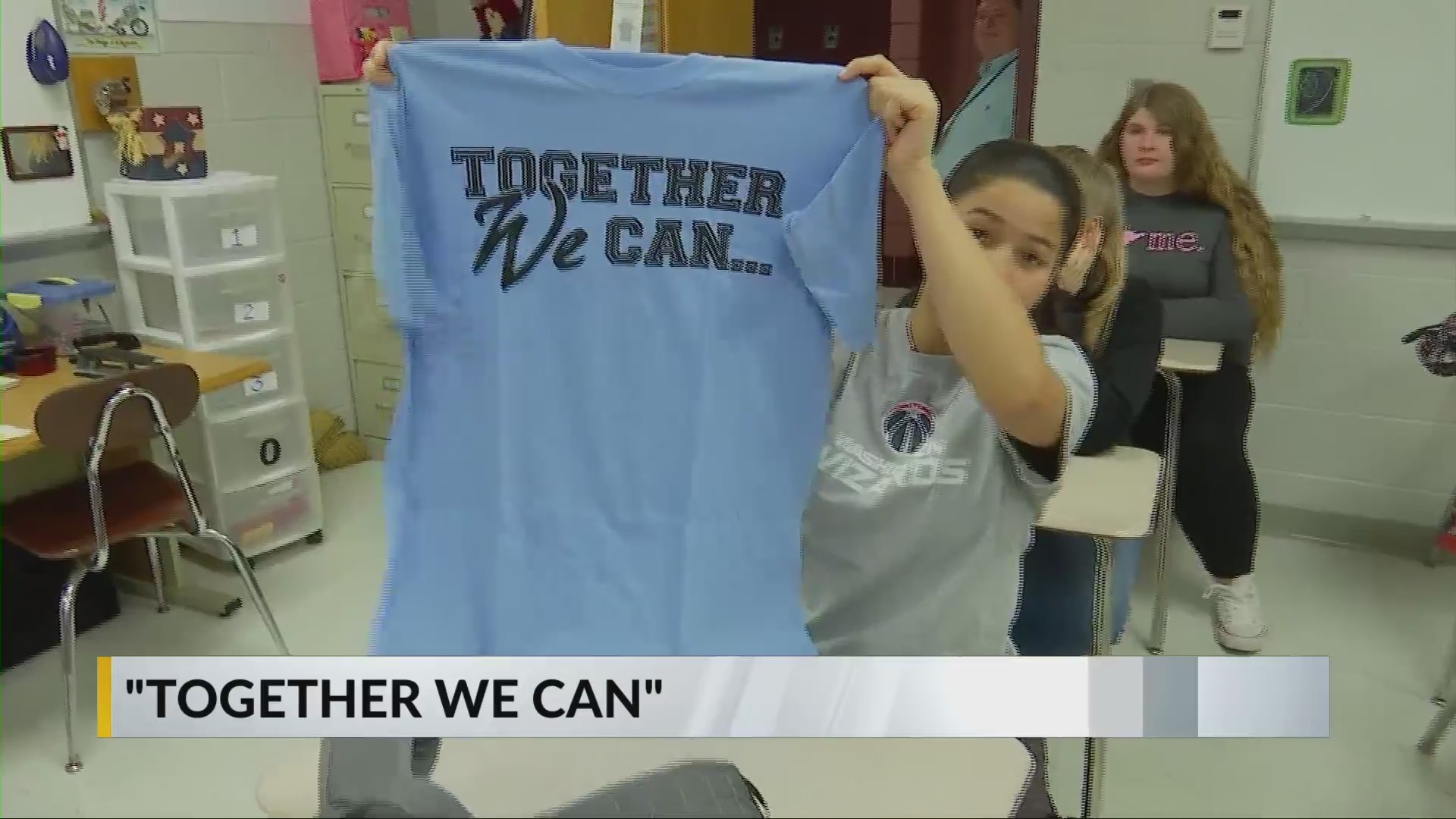 Cabell County high school students launch 'Together We Can' campaign
