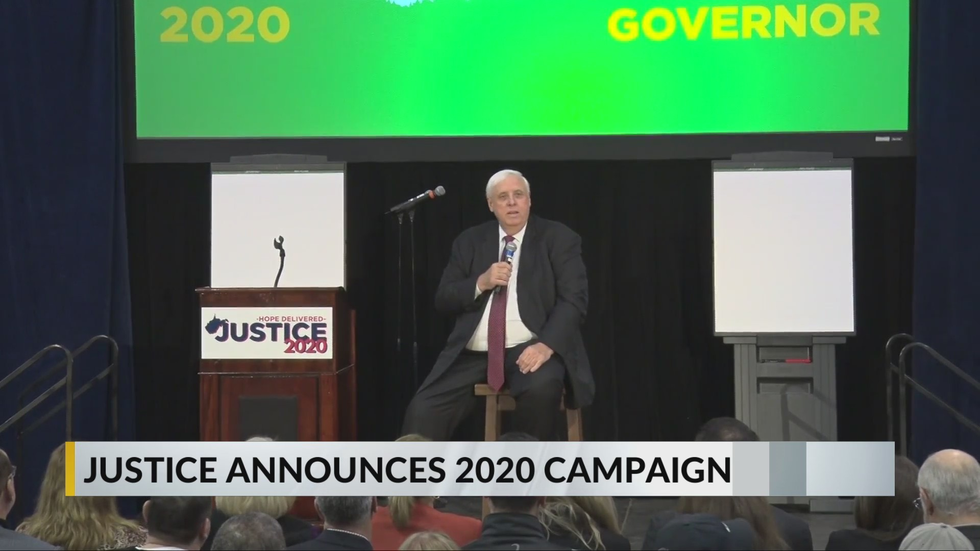 Gov. Jim Justice Announces he will run for Governor in 2020
