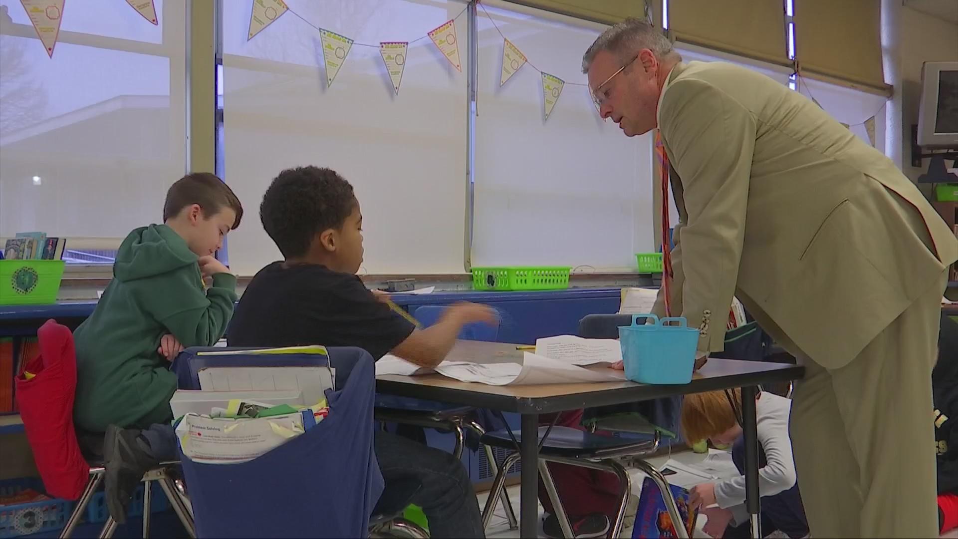 West Virginia Delegates Visit Elementary School Amid Education Debate