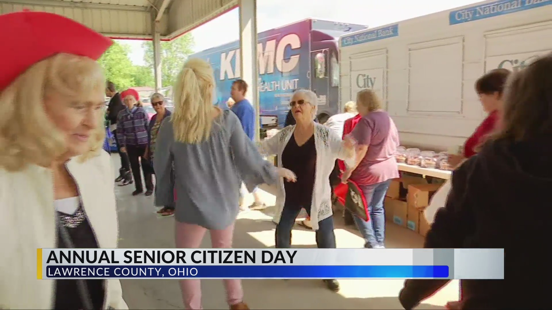 Lawrence County hosts Senior Day on county fairgrounds