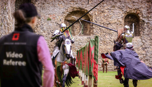 English Heritage Tests Video Review Tech For Jousting WOWK