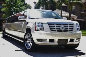 CT Cadillac Escalade limo