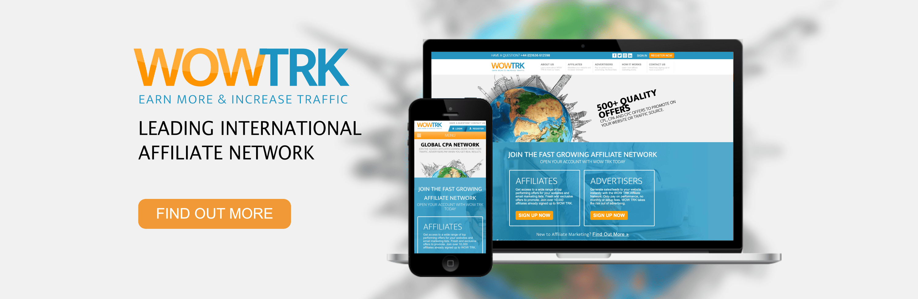 WOW TRK Affiliate Network