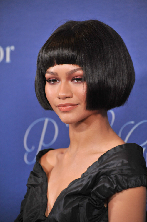 Chic And Classy Bobs With Bangs Hairstyle That Can Dazzle