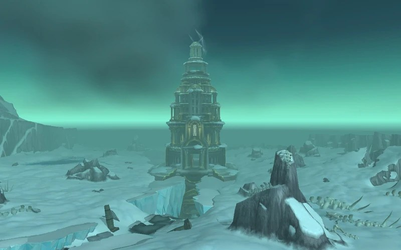 Wyrmrest Temple, setting of the Deathwing raid