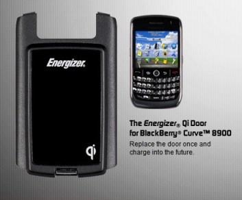 Energizer for blackberry