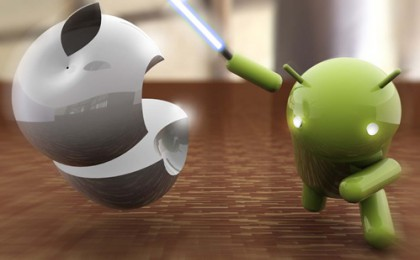Tablet War Between Android And iPhone