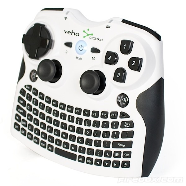 Veho Mimi Wireless Gamepad Keyboard Is A Cool Device For HTPC And PC Gamers