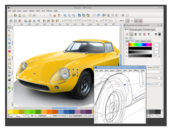 Inscape Design Application