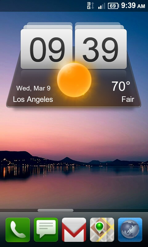 Miui weather App For Android
