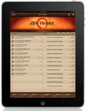 Zen Viewer Is A Cool Document Manager Application for iPad
