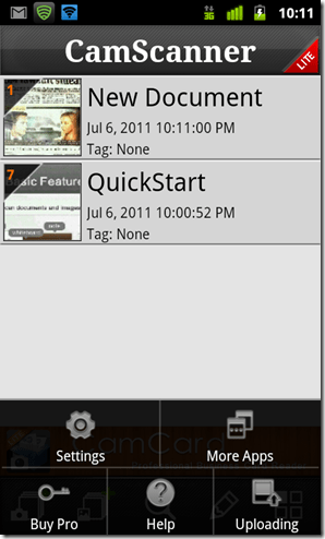 android app to scan and edit documents
