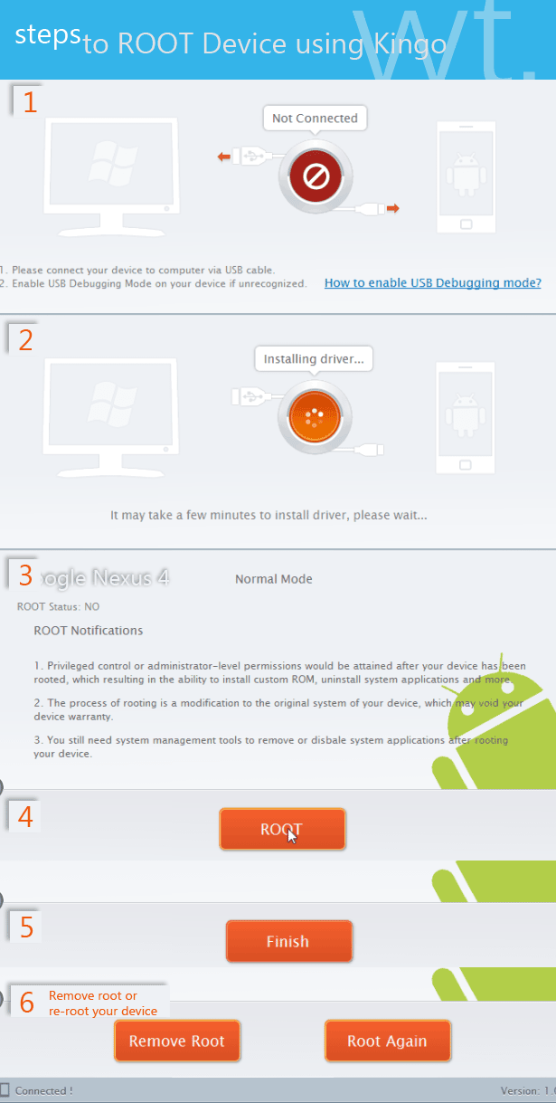 kingo-android-root-steps
