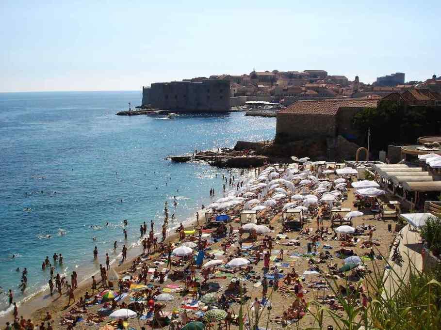 Banje Beach, Dubrovnik - by Bokeh & Travel:Flickr