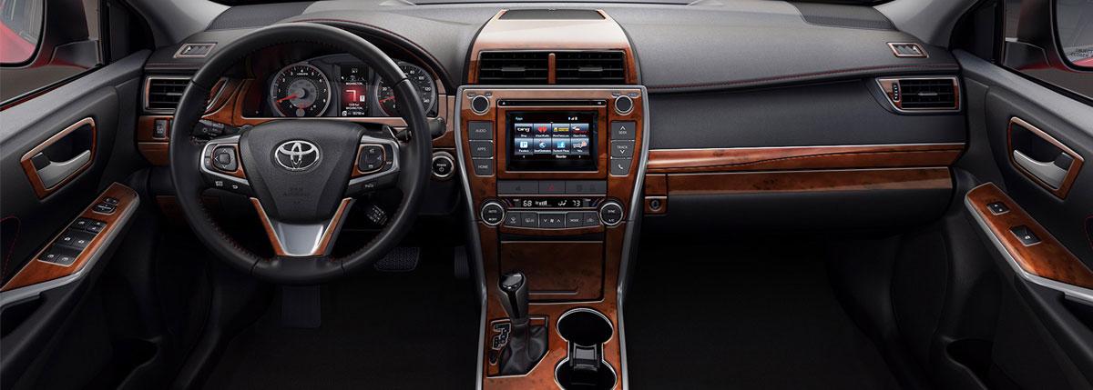 Interior Car Accessories Wood Grain Carbon Fiber