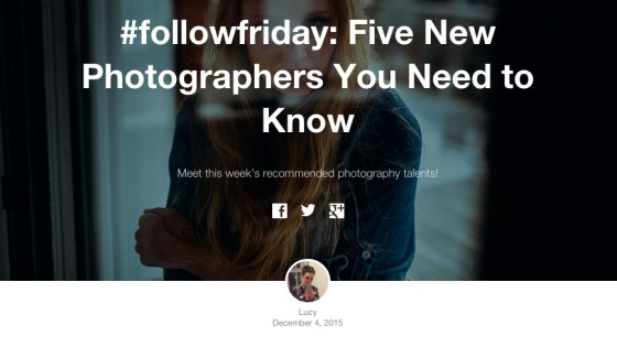 five new photographers you need to know eyeem
