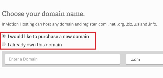 Free Domain InMotion Hosting Coupon