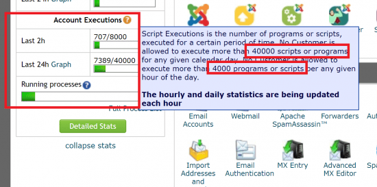 Script Executions - SiteGround Hosting Limitations