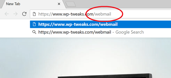 Access Webmail Directly