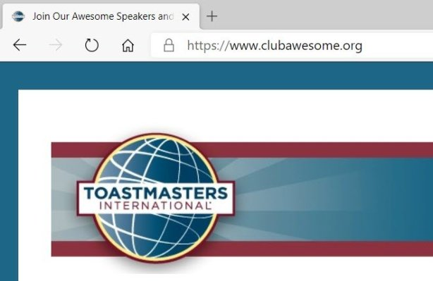 Toastmasters club website domain