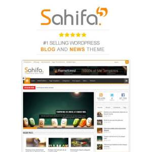 Sahifa – Responsive WordPress News / Magazine / Blog Theme