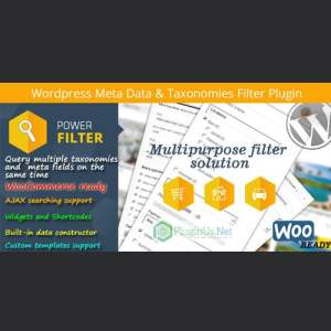 MDTF – WordPress Meta Data & Taxonomies Filter