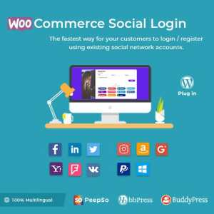 Social Login – WordPress / WooCommerce Plugin