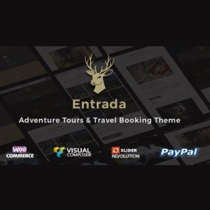 Entrada Tour Travel Booking WordPress Theme