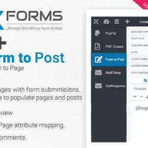 Form to Post/Page for NEX-Forms – Addon