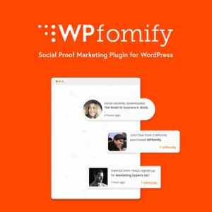 WPfomify – Social Proof Plugin for WordPress