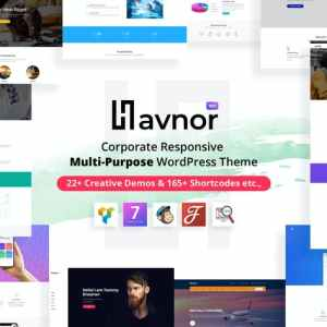 Havnor – Corporate Responsive Multi-Purpose WordPress Theme