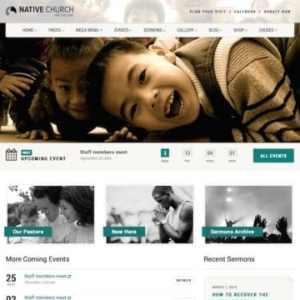 Native Church – Multi Purpose WordPress Theme