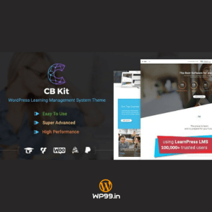 Course & LMS WordPress Theme | COURSE BUILDER | CBKit