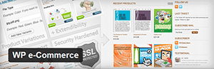 WP e-Commerce Banner