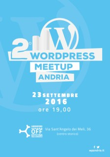 secondo-wordpress-meetup-andria