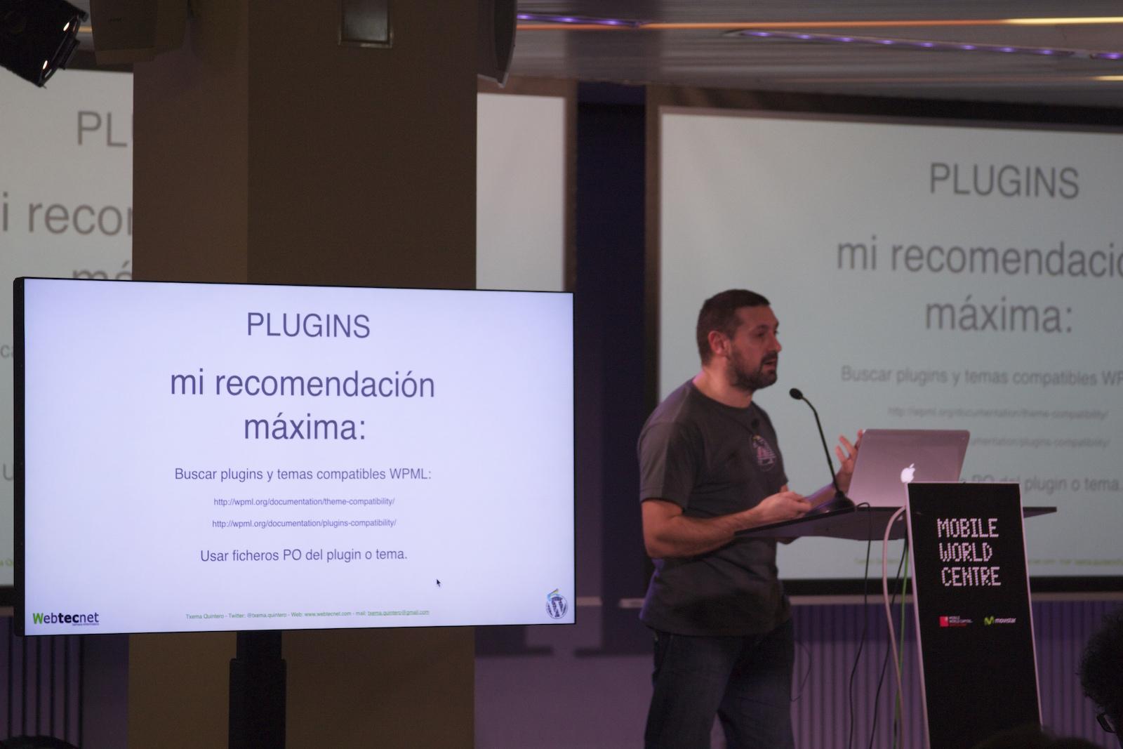 Buscar plugins y temas compatibles con WPML