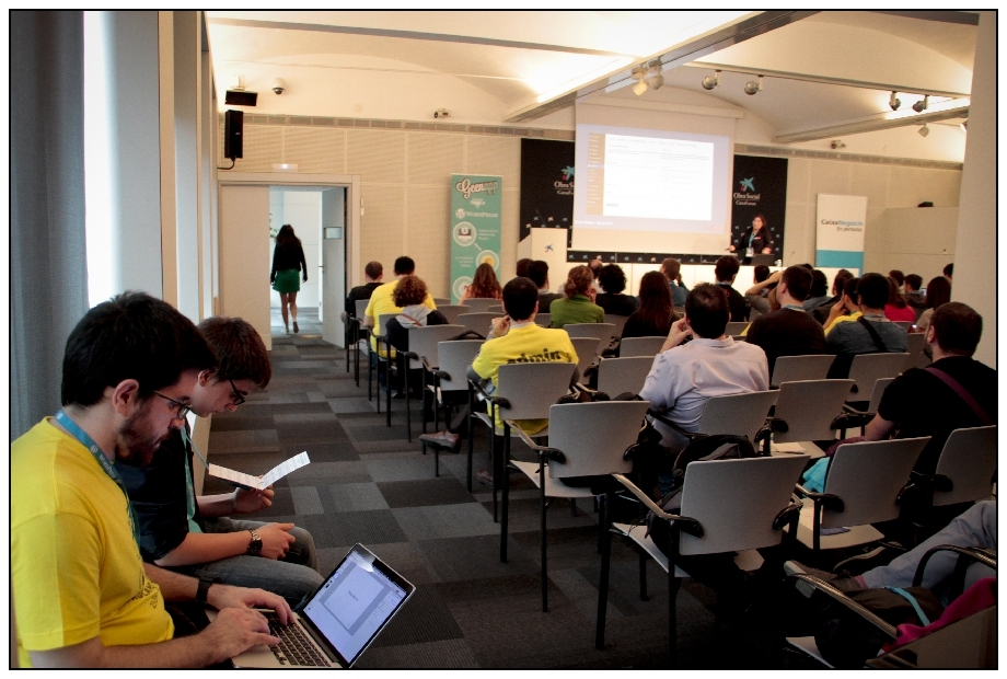 Open Sessions Day. WordCamp Barcelona 2015. Foto: @cicerone