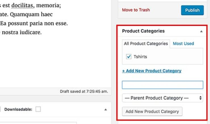 Add product category